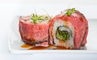 Spicy Roastbeef Roll